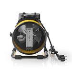 Industriële Keramische Ventilatorkachel | Thermostaat | 3 Standen | 3000 W | Geel