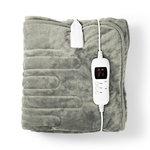 Elektrische Deken | Bovendeken | 180 x 130 cm | 9 Warmtestanden | Indicatorlampje | Overheat Protection
