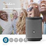 Bluetooth®-Speaker   90 W   Party Mode tot wel 100 speakers   Voice Control   Zwart / Gun Metal Grey