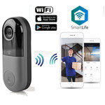 Slimme Wi-Fi Videodeurbel - 2- zijdige communicatie | Bediening via App