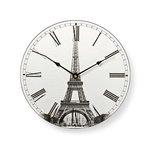 Ronde wandklok | Diameter 30 cm | Eiffeltoren-afbeelding