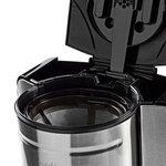 Koffiezetapparaat   12-kops capaciteit   24-uurs timer   Roestvrij staal