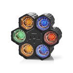Discolamp met Spots   Multicolour   met 126 LEDs