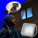 TV Simulator| Ingebouwde timer | Zwart