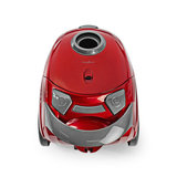 Compacte, krachtige stofzuiger - met zak - 700 W - 1,5 L Inhoud - metallic Rood_