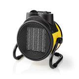 Industriële Keramische Ventilatorkachel | Thermostaat | 3 Standen 2000 W | Geel_