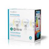 Wi-Fi Smart LED-Lamp   Warm tot Koel Wit   GU10   3-Pack_