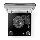 Platenspeler | 18 W | Bluetooth ® | USB-Conversie | Cover | Zwart_