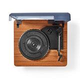 Platenspeler   9 W   Bluetooth ®   Cover   Bruin_