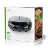 Multi-Grill | Tosti / Wafel / Grill | 800 Watt | Zwart_