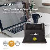 Smartcard Reader   USB 2.0   Desktop Model   Black_