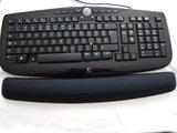 Ergonomische Polssteun voor Toetsenbord   Gel   480 x 80 mm   Zwart_