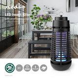 Electrische Insectenlamp - 4 Watt - LED - Zwart_