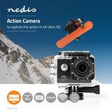 Action Cam - Ultra HD 4K - Wi-Fi - Waterdichte behuizing_