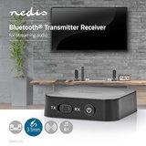 Draadloze Audiozender/-ontvanger - Bluetooth® - 3,5 mm Uitgang_