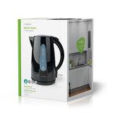 Elektrische Waterkoker - 1,7 liter - 360° draaibaar - Zwart_