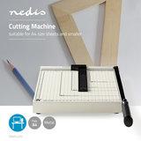Papiersnijmachine - A4-formaat - Metalen mes_