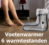 Voetenwarmer - 6 warmtestanden - Wasbaar - Digitale Besturing - Beveiliging tegen Oververhitting_
