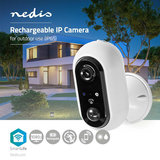 SmartLife Camera voor Buiten Wi-Fi | Full HD 1080p | IP65 | Maximale levensduur batterij: 4 maand(en) - Cloud / MicroSD - 5 VDC - Met bewegingssensor - Nachtzicht - Android™ & iOS_