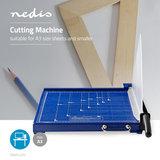 Papiersnijmachine - A3-formaat - Metalen mes_