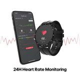 Mooi vormgegeven Smart Gezondheids Horloge + App met zeer veel mogelijkheden._