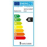 Wi-Fi smart LED-lamp | Full Colour en Warm-Wit | E14_