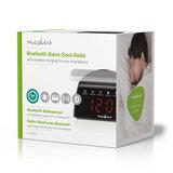 Digitale Wekkerradio | Draadloos Telefoon Opladen | FM | Bluetooth® | Stereo_