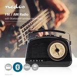FM-radio | 5,4 W | Bluetooth® | Draaggreep | Zwart