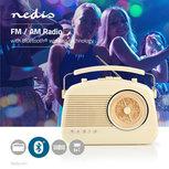FM-radio | 5,4 W | Bluetooth® | Draaggreep | Beige
