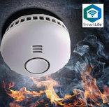 Slimme rookmelder - Nedis SmartLife (Wifi, Hittemelder, Koppelbaar)
