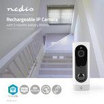 Oplaadbare IP-Camera | PIR Bewegingssensor | MicroSD | 3000 mAh