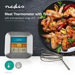 Vleesthermometer | 0 - 250 °C | Kleurendisplay | Timer