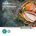 Vlees- en wijnthermometer | 0 - 200 °C | Digitaal Display