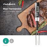 Vleesthermometer | 0 - 250 °C | Digitaal Display