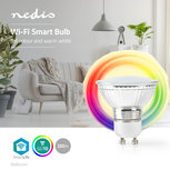 Wi-Fi Smart LED-Lamp | Full-Colour en Warm Wit | GU10