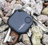 Key finder / Tracker - Tot 50 meter, Bluetooth, Wit of Blauw