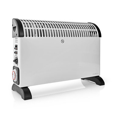Convectorkachel | Thermostaat | Ventilatorfunctie | Timer | 3 Standen | 2000 W | Wit