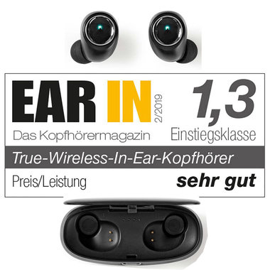 Draadloze Koptelefoon   Bluetooth®   In-Ear   True Wireless Stereo (TWS)   Voice Control