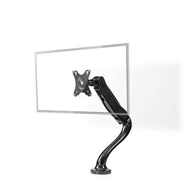 Bureau-monitorsteun | Enkele monitorarm | Full-motion | 10 - 32