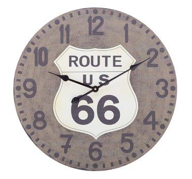 Wandklok Route 66 - 60 cm