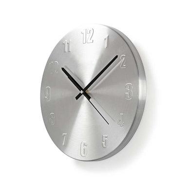 Ronde wandklok | Diameter 30 cm | Aluminium