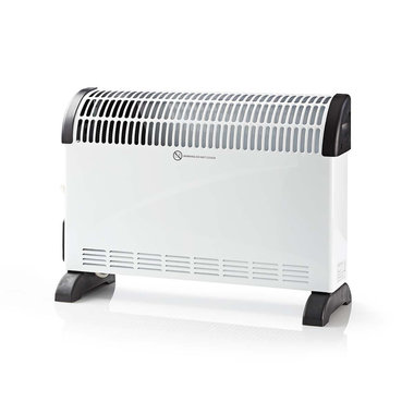 Convectieverwarming | 750/1250/2000 W | Turbo & timer | Wit