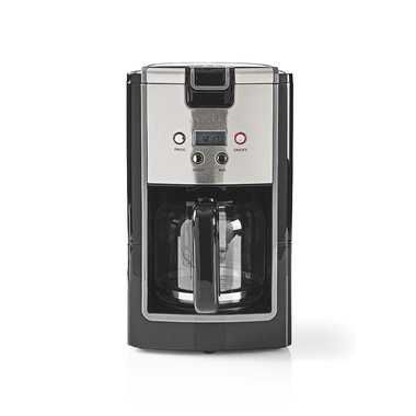 Koffiezetapparaat | 12-Kops Inhoud | 24-uurs Timer | Zwart