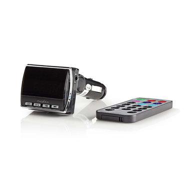 Auto-FM-zender   3,5 mm ingang   microSD-kaartsleuf