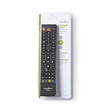 Vervangende afstandsbediening   Sony TV   Klaar voor gebruik