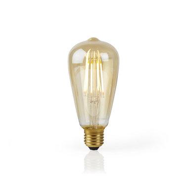 Slimme Wi-Fi-LED-lamp Met Filament | E27 | ST64 | 5 W | 500 lm