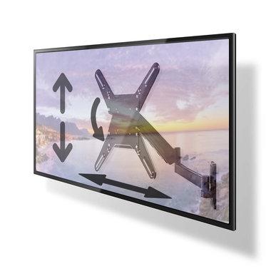 Tv beugel draaibaar - kantelbaar en in hoogte verstelbaar. max 55 inch