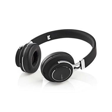 Draadloze hoofdtelefoon | Bluetooth® | On-ear | Travelcase | Zwart