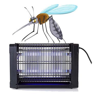 Muggenlamp / Lichtval tegen muggen | 16 W | Dekking van 50 m²