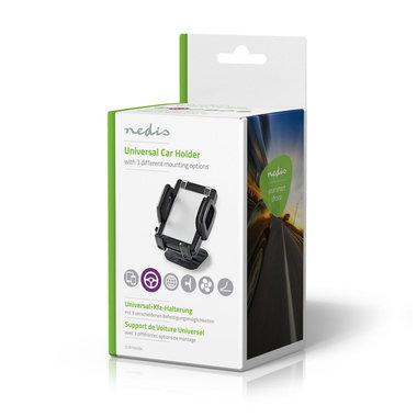 Smartphone-houder voor auto   3-in-1   Ventilatierooster / zuignap / kleefvlak